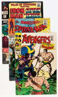 Silver Age (1956-1969):Miscellaneous, Comic Books - Assorted Silver Age Comics Group (Various Publishers, 1960s) Condition: Average FN-.... (Total: 14 Comic Books)