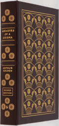 Books:Fiction, Arthur Golden. SIGNED. Memoirs of a Geisha. Easton Press,2005. Collector's edition signed by the author and add...