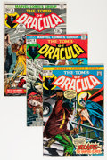 Bronze Age (1970-1979):Horror, Tomb of Dracula #6-10 and 12 Group (Marvel, 1973) Condition:Average FN.... (Total: 27 Comic Books)