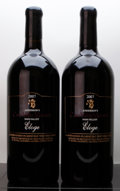 Domestic Cabernet Sauvignon/Meritage, Anderson's Conn Valley Red 2007 . Eloge. Double-Magnum (2). ... (Total: 2 D-Mags. )