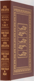Books:Biography & Memoir, Heinrich Harrer. SIGNED. Seven Years in Tibet. Easton Press,2004. Collector's edition, signed by the author and...