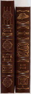 Books:Science Fiction & Fantasy, Allen M. Steele. Two LIMITED/SIGNED Leather Bound Easton Press Editions. Including: ChronoSpace. Easton Press, 2... (Total: 2 Items)