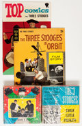 Memorabilia:Movie-Related, Three Stooges Comics and Film Group (1950s-70s).... (Total:36 Items)