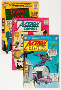 Action Comics/Adventure Comics Box Lot (DC, 1953-72) Condition: Average VG