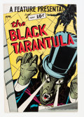 Golden Age (1938-1955):Horror, Feature Presentation #5 The Black Tarantula (Fox, 1950) Condition:FN+....