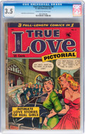 Golden Age (1938-1955):Romance, True Love Pictorial #4 (St. John, 1953) CGC VG- 3.5 Cream tooff-white pages....
