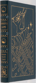 Books:Science Fiction & Fantasy, Orson Scott Card. SIGNED. Ender's Game. Easton Press, 1993.Collector's edition signed by the author. Illustrate...