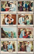 "Movie Posters:Action, Blowing Wild (Warner Brothers, 1953). Lobby Card Set of 8 (11"" X14""). Action.. ... (Total: 8 Item)"