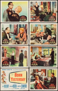"Movie Posters:Comedy, Born Yesterday (Columbia, 1950). Lobby Card Set of 8 (11"" X 14"").Comedy.. ... (Total: 8 Items)"