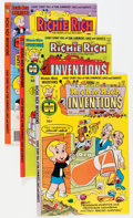 Bronze Age (1970-1979):Cartoon Character, Richie Rich Inventions File Copy Group (Harvey, 1977-82) Condition:Average NM-.... (Total: 71 Comic Books)