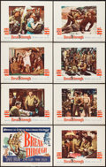 """Movie Posters:War, Breakthrough (Warner Brothers, 1950). Lobby Card Set of 8 (11"""" X 14""""). War.. ... (Total: 8 Items)"""