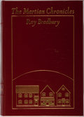 Books:Science Fiction & Fantasy, Ray Bradbury. SIGNED. The Martian Chronicles. 1989. Collector's edition, signed by the author. Illustrations by ...