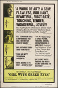 "Movie Posters:Drama, Girl with Green Eyes & Other Lot (Lopert, 1965). Posters (2) (40"" X 60""). Drama.. ... (Total: 2 Items)"