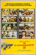 """Movie Posters:War, The Longest Day (20th Century Fox, 1962). Posters (2) (40"""" X 60"""")Style Y & Z. War.. ... (Total: 2 Items)"""