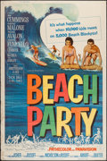 """Movie Posters:Comedy, Beach Party (American International, 1963). Poster (40"""" X 60"""").Comedy.. ..."""