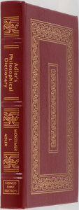 Books:Philosophy, Mortimer J. Adler. SIGNED. Adler's Philosophical Dictionary.Easton Press, 1995. Collector's edition signed by t...