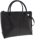 Luxury Accessories:Bags, Tod's Black Leather Lady D Bag . ...