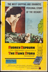 "The Nun's Story (Warner Brothers, 1959). Posters (2) (40"" X 60"") X & Y Styles. Drama. ... (Total: 2 It..."