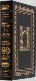 Books:Biography & Memoir, Jane Alexander. LIMITED/SIGNED. Command Performance. An Actressin the Theater of Politics. Easton Press, 2000. ...