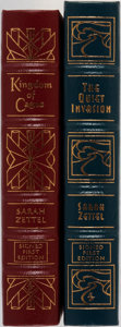 Books:Science Fiction & Fantasy, Sarah Zettel. Two LIMITED/SIGNED Leather Bound Easton Press Editions. Including: The Quiet Invasion. Easton Pres... (Total: 2 Items)