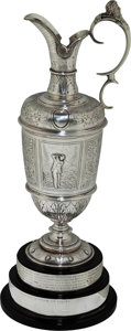 Golf Collectibles:Miscellaneous, 1946 British Open Championship Silver Claret Jug Won by Sam Snead....