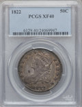 Bust Half Dollars: , 1822 50C XF40 PCGS. PCGS Population (80/581). NGC Census: (39/652).Mintage: 1,559,573. Numismedia Wsl. Price for problem f...