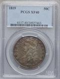 Bust Half Dollars: , 1819 50C XF40 PCGS. PCGS Population (54/314). NGC Census: (28/366).Mintage: 2,208,000. Numismedia Wsl. Price for problem f...