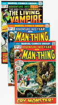 Bronze Age (1970-1979):Horror, Fear Group (Marvel, 1972-75) Condition: Average VF+.... (Total: 15Comic Books)