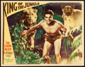 "Movie Posters:Action, King of the Jungle (Paramount, 1933). Lobby Card (11"" X 14"").. ..."
