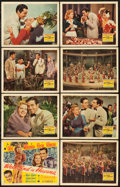 """Movie Posters:Musical, Week-End in Havana (20th Century Fox, 1941). Lobby Card Set of 8(11"""" X 14""""). From the Collection of Wade Williams.. ...(Total: 8 Items)"""
