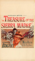 "Movie Posters:Film Noir, The Treasure of the Sierra Madre (Warner Brothers, 1948). WindowCard (13"" X 22"").. ..."