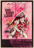 "Movie Posters:Musical, My Fair Lady (Warner Brothers, 1964). Italian 4 - Foglio (55"" X78""). Musical.. ..."