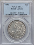 Bust Half Dollars: , 1832 50C Small Letters AU53 PCGS. PCGS Population (196/982). NGCCensus: (158/1224). Mintage: 4,797,000. Numismedia Wsl. Pr...