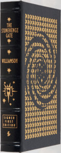 Books:Science Fiction & Fantasy, Jack Williamson. LIMITED/SIGNED. The Stonehenge Gate. Easton Press, 2005. First edition limited to 900 numbered ...