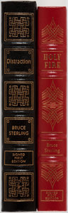 Books:Science Fiction & Fantasy, Bruce Sterling. Two LIMITED/SIGNED Easton Press Editions including: Holy Fire. Easton Press, 1996. First edition lim... (Total: 2 Items)