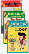 Silver Age (1956-1969):Humor, Tastee-Freez Comics #1-6 File Copies Group (Harvey, 1957) Condition: Average VF+.... (Total: 18 Comic Books)