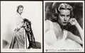 "Movie Posters:Miscellaneous, Grace Kelly Lot (Warner Brothers, 1952 and United Artists, 1954).Portrait Photos (2) (8"" X 10"").. ... (Total: 2 Items)"
