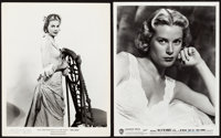 "Grace Kelly Lot (Warner Brothers, 1952 and United Artists, 1954). Portrait Photos (2) (8"" X 10""). ... (Total:..."