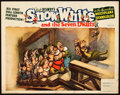 "Movie Posters:Animation, Snow White and the Seven Dwarfs (RKO, 1937). Lobby Card (11"" X 14"").. ..."