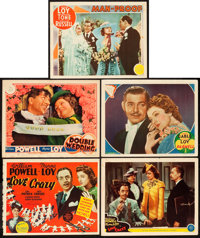 "Love Crazy and Others Lot (MGM, 1941). Title Lobby Card & Lobby Cards (4) (11"" X 14""). ... (Total: 5 Items..."