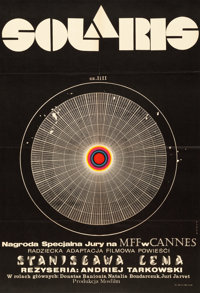 "Solaris (Mosfilm, 1972). Polish One Sheet (22.5"" X 33)"