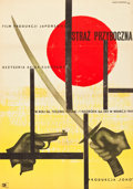 "Movie Posters:Action, Yojimbo (CWF, 1961). Polish One Sheet (23"" X 32"").. ..."