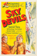 "Movie Posters:Comedy, Sky Devils (United Artists, 1932). One Sheet (27"" X 41"").. ..."