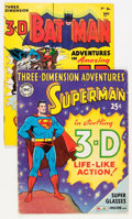 Golden Age (1938-1955):Superhero, Three-Dimension Adventures Group (National Periodicals, 1953-66).... (Total: 2 Comic Books)