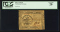 Colonial Notes:Continental Congress Issues, Continental Currency May 9, 1776 $5 PCGS Very Fine 20.. ...
