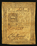 Colonial Notes:Pennsylvania, Pennsylvania March 20, 1773 14s Very Fine.. ...