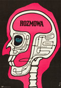 """Movie Posters:Thriller, The Conversation (Paramount, 1974). Polish One Sheet (23"""" X 33"""")....."""