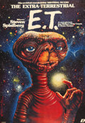 "Movie Posters:Science Fiction, E.T. The Extra-Terrestrial (Polfilm, 1984). Polish One Sheet (26"" X37.5"").. ..."