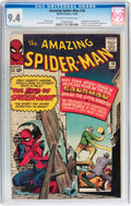 Silver Age (1956-1969):Superhero, The Amazing Spider-Man #18 (Marvel, 1964) CGC NM 9.4 Off-white to white pages....