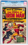 Silver Age (1956-1969):Superhero, Tales of Suspense #58 (Marvel, 1964) CGC NM 9.4 Off-white to white pages....